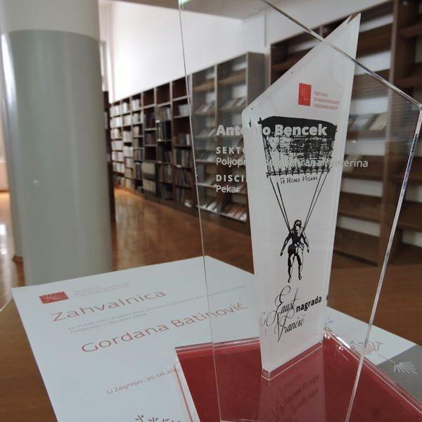 <h2>Nagrada &#8216;Faust Vrančić&#8217;</h2>